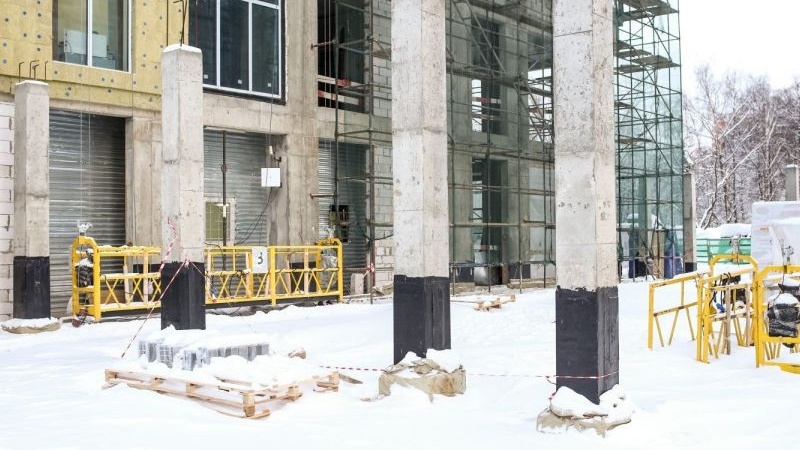 парковка автомобильных жк достояние фото этапы строительства данный момент